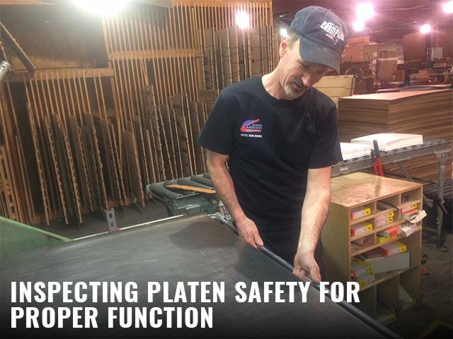8-Inspecting-platen-safety-for-proper-function